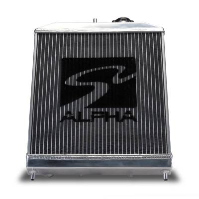 Skunk2 - Skunk2 Alpha Series Half Radiator