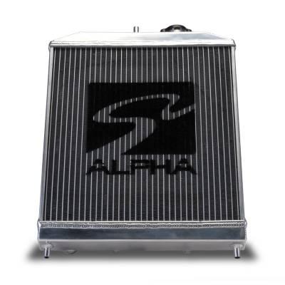 Skunk2 - Skunk2 Alpha Series Half Radiator - Image 1