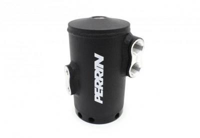 Perrin Performance - Perrin Air Oil Separator w/ FMIC (Black)