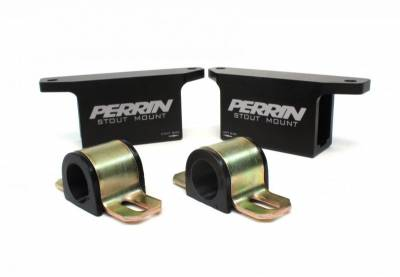 Suspension Components - Bushings - Perrin Performance - Perrin Rear Stout Mounts for 19mm Sway Bars