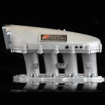 Air Intakes - Intake Manifolds - Skunk2 - Skunk2 Ultra B-Series Race Intake Manifold (Silver, 3.5 Liters)