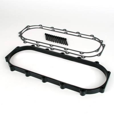 Air Intakes - Intake Manifolds - Skunk2 - Skunk2 Ultra B & K-Series Race Intake Manifold Spacer (+1-Liter, Black)
