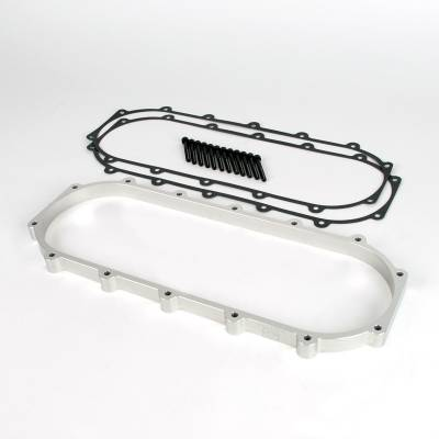 Air Intakes - Intake Manifolds - Skunk2 - Skunk2 Ultra B & K-Series Race Intake Manifold Spacer (+1-Liter, Silver)