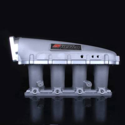 Air Intakes - Intake Manifolds - Skunk2 - Skunk2 Ultra K-Series Race Intake Manifold (Silver, 3.5 Liters)