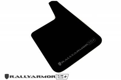 Rally Equipment - Mud Flaps - RallyArmor - Rally Armor Universal UR Plus Black Mud flap Grey logo