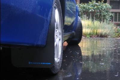 Aero - Rally Armor - RallyArmor - Rally Armor 02-07 Impreza Classic Mud flap Blue logo