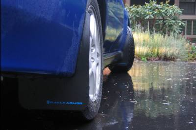 RallyArmor - Rally Armor 02-07 Impreza Classic Mud flap Blue logo