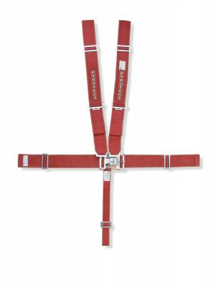 "Race Gear - Harnesses - Pyrotect - Pyrotect 6pt Sport Series 3"" Harness Latch and Link SFI 16-1 / w-bolt plates"