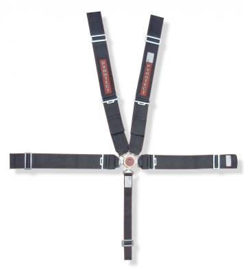 "Race Gear - Harnesses - Pyrotect - Pyrotect 5pt Sport Series 3"" Harness Camlock SFI 16-1 / w-bolt plates"