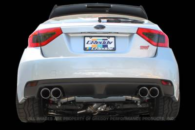 GReddy - GReddy Supreme SP Exhaust for WRX STI Hatchback - Image 2