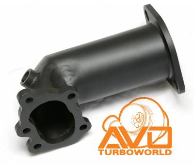 "AVO Turboworld - AVO 3"" SS Front Pipe System with 5"" Metal Cat - Image 2"