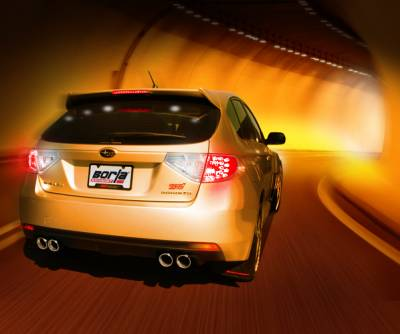 Borla - Borla Cat-Back Exhaust WRX & STI (Hatchback) - Image 3
