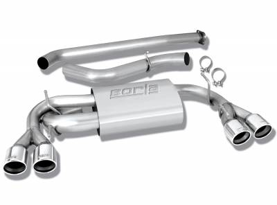 Exhaust Systems - Cat Backs - Borla - Borla Cat-Back Exhaust WRX & STI (Hatchback)