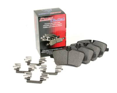 StopTech - Stoptech Posi-Quiet Metallic Brake Pads w/Shims Front - Image 1