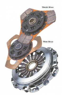 Exedy - Exedy Stage 2 Cerametallic Clutch Kit (Thick 4 puck) - Image 2