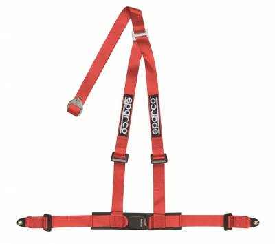 Sparco 2 Inch 3 Point Bolt-In Safety Harness