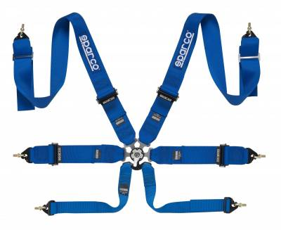 Sparco 6 Point P-3 Belt Pull Up Style