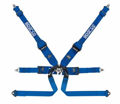 Sparco - Sparco 6 Point Competition P-2 Hans Formula Harness