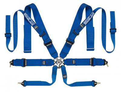 Sparco - Sparco 8 Point Double Shoulder Competition Harness