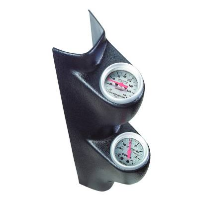 INTERIOR - Gauges - Auto Meter - Auto Meter Gauge A-Pillar Dual Pod 2 1/16in.