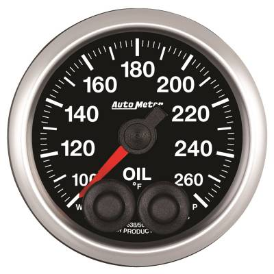 Gauges - Temperature - Auto Meter - Auto Meter 2-1/16in. OIL TEMP; 100-260F; COMP
