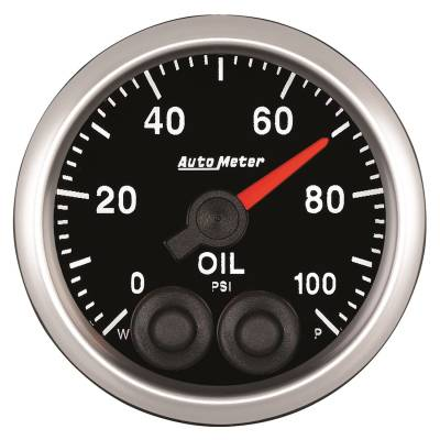 Gauges - Pressure - Auto Meter - Auto Meter 2-1/16in. OIL PRESS; 0-100 PSI; COMP