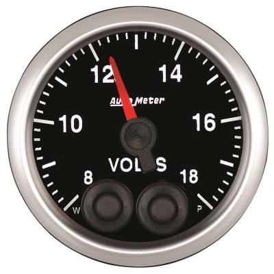 Gauges - Voltage - Auto Meter - Auto Meter 2-1/16in. VOLTMETER; 8-18V COMP