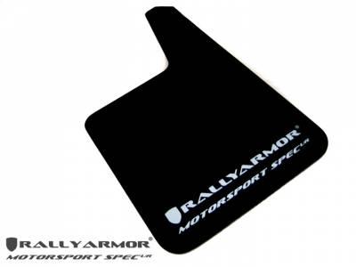 Rally Equipment - Mud Flaps - RallyArmor - Rally Armor Universal MSpec Mud flap White logo