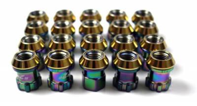 Project Kics - Project Kics Neochrome 12x1.50 Lug Nuts (20) - Image 1