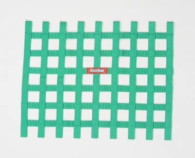 Race Gear - Net Mounts and Accessories - RaceQuip - RACEQUIP RIBBON WINDOW NET GREEN