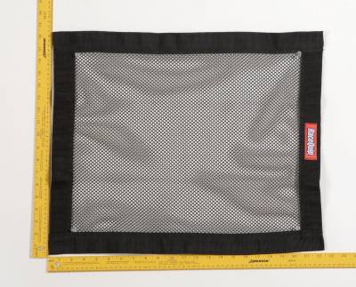 Race Gear - Net Mounts and Accessories - RaceQuip - RACEQUIP MESH WINDOW NET BLACK