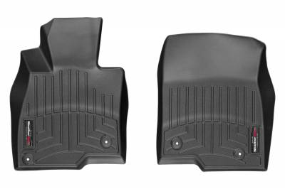 All Products - WeatherTech - WeatherTech Front Floorliners Black