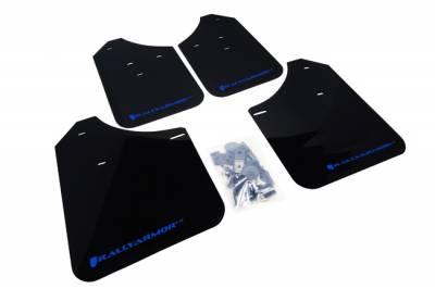 Aero - Rally Armor - RallyArmor - Rally Armor 02-07 Impreza / WRX / STi UR Rally Mud flap Blue logo