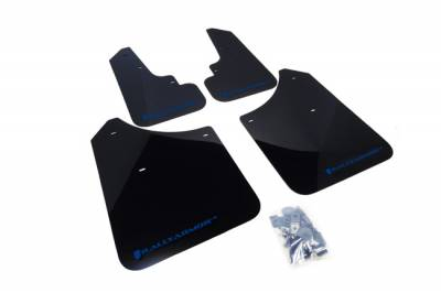 Aero - Rally Armor - RallyArmor - Rally Armor 03-08 Forester UR Mud Flap Blue Logo