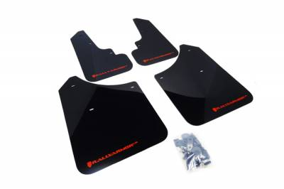 Aero - Rally Armor - RallyArmor - Rally Armor 03-08 Forester UR Mud Flap Red Logo