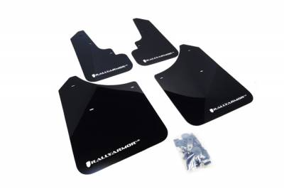 Aero - Rally Armor - RallyArmor - Rally Armor 03-08 Forester UR Mud Flap White Logo