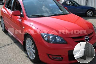Aero - Rally Armor - RallyArmor - Rally Armor 04-09 Mazda3 / Speed3 Basic Mud flap