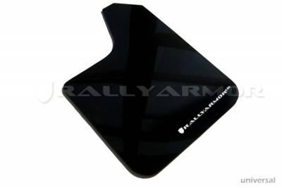 Rally Equipment - Mud Flaps - RallyArmor - Rally Armor Universal UR Mud flap White logo