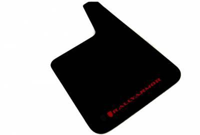 Rally Equipment - Mud Flaps - RallyArmor - Rally Armor Universal Basic Plus Red logo