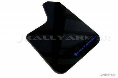 Rally Equipment - Mud Flaps - RallyArmor - Rally Armor Universal UR Mud flap Blue logo
