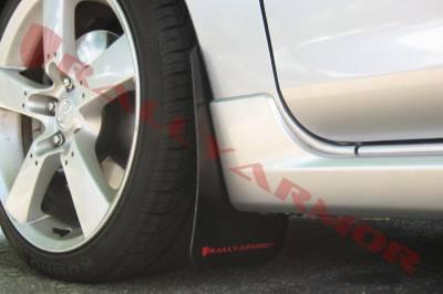RallyArmor - Rally Armor 04-09 Mazda3 / Speed3 Mud Flap Red logo - Image 2