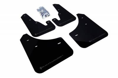 Aero - Rally Armor - RallyArmor - Rally Armor 04-09 Mazda3 / Speed3 Mud flap Grey logo
