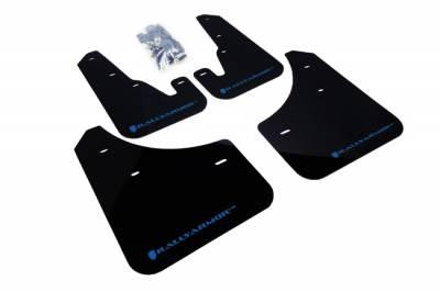 Aero - Rally Armor - RallyArmor - Rally Armor 04-09 Mazda3 / Speed3 Mud flap Blue logo