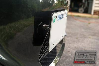 GrimmSpeed - GrimmSpeed License Plate Relocation Kit - Image 4