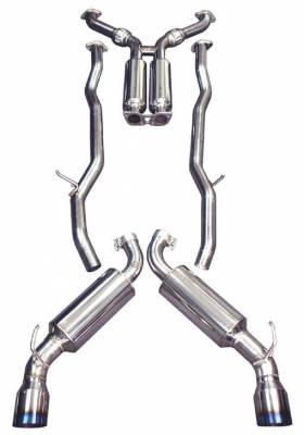 Injen - Injen Cat-Back Exhaust System w/ Titanium Tip