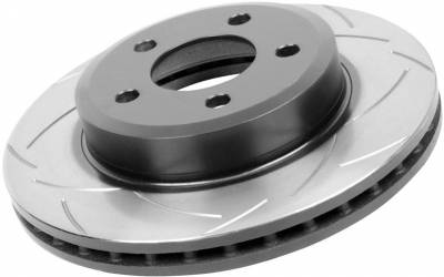 Brakes - Brake Rotors - Disc Brakes Australia - DBA Rear Slotted Street Rotor