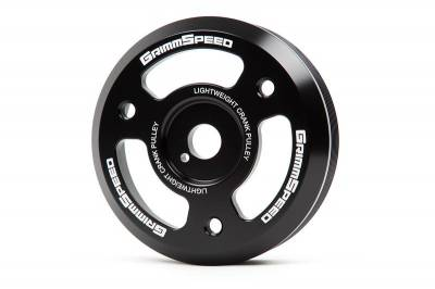 GrimmSpeed - GrimmSpeed Lightweight Crank Pulley - Image 1