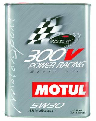 Fluids - Engine Oil - Motul -  Motul 2L Synthetic-ester Racing Oil 300V POWER RACING 5W30