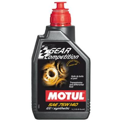 MAINTENANCE - Motul - Motul 1L Transmision GEAR FF COMP 75W140 (LSD) - Synthetic Ester