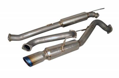 Injen - Injen Catback Exhaust System w/ Burnt Tips
